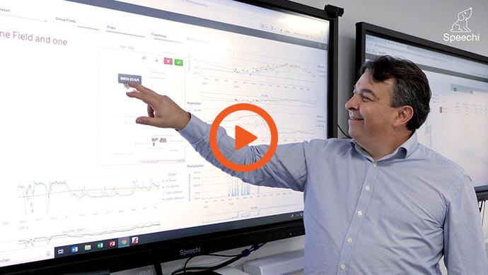 écran interactif en entreprise agroalimentaire Vidéo
