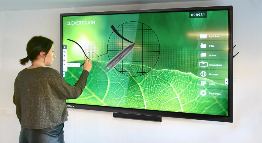 ecran interactif e-cap clevertouch
