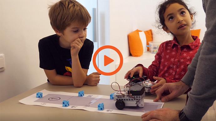 apprendre à programmer avec un robot programmable