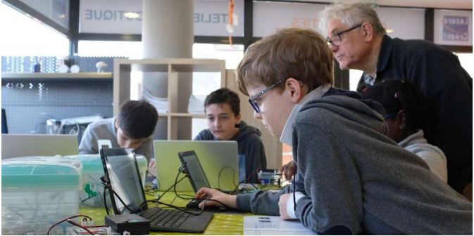 école programmation robotique pessac