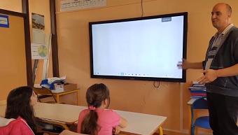 ecran interactif a lecole