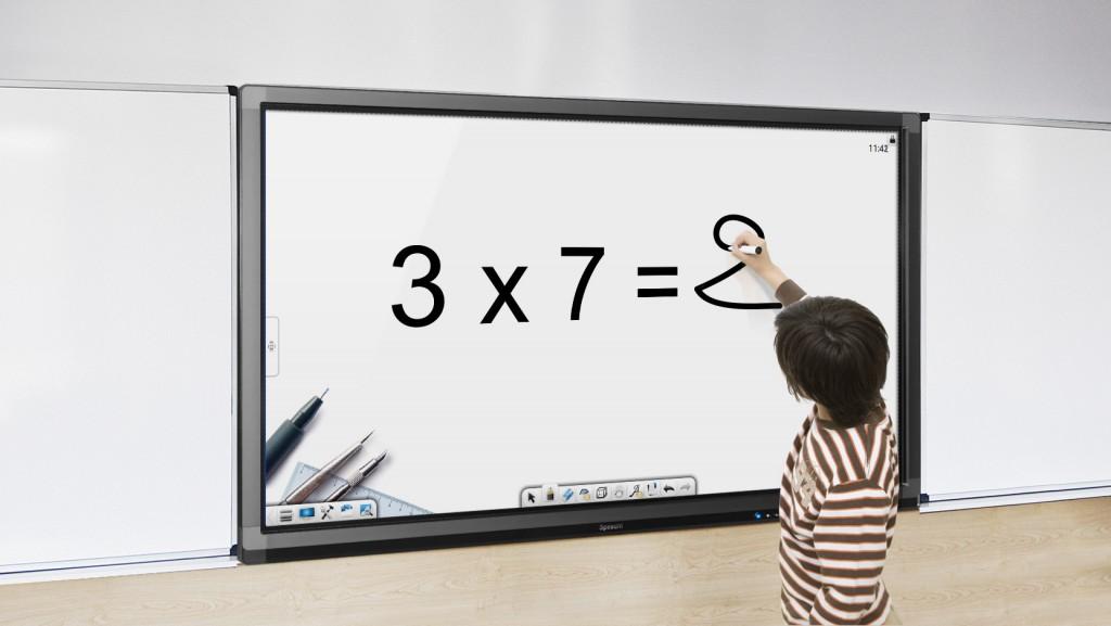 ecran interactif pour les cours