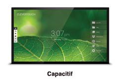 écran interactif tactile  capacitig