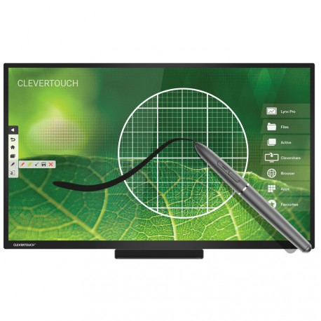 ecran-interactif-tactile-android-clevertouch-pro-e-cap-4k-