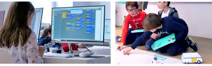 stage de programmation pour coder robot programmable