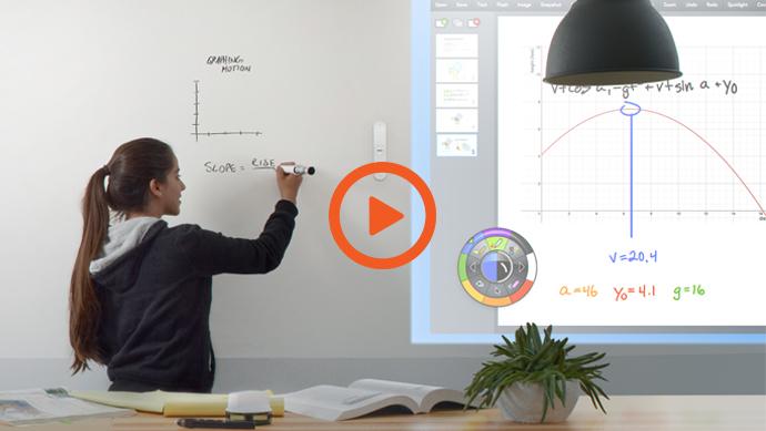 tableau blanc interactif mobile video