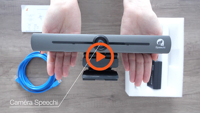 Caméra de visioconférence UHD - vidéo in the box
