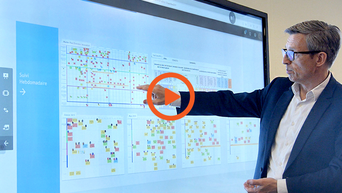 témoignage orano écran interactif entreprise