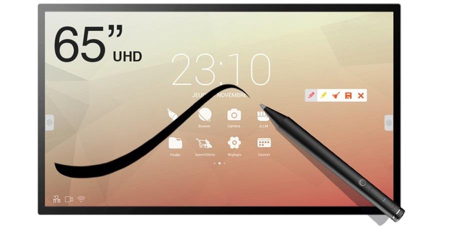 ecran-interactif-capacitif-speechitouch-65-resolution-ultra-hd-4k