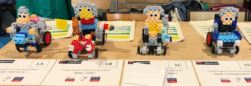 Skillbot-robots
