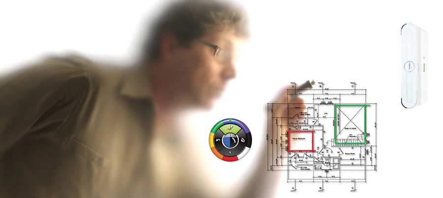 le TBI mobile en collaboration avec un écran interactif dans le domaine du bâtiment
