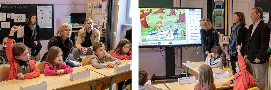 Intérêt de l'écran interactif SpeechiTouch pour son apport pédagogique