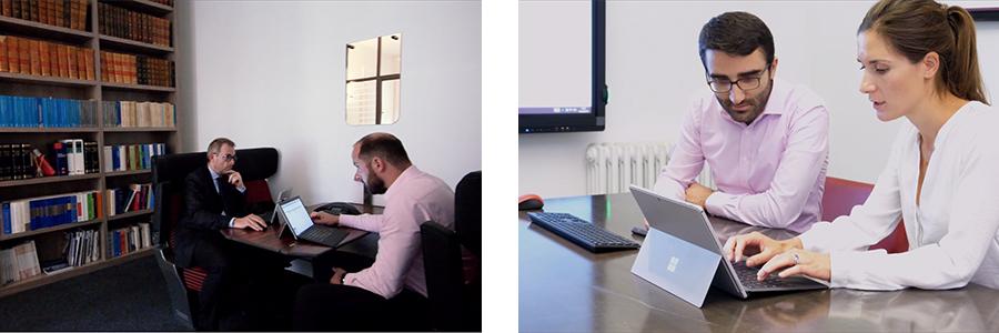la mobilité et l'écran interactif pour le cabinet d'avocats Claisse & Associés