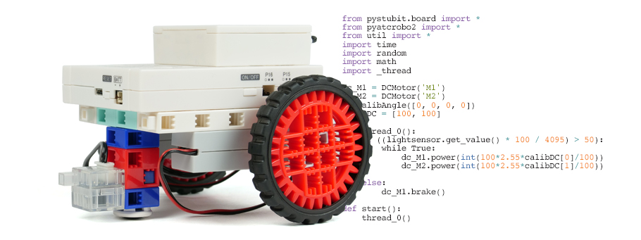programmation robot python