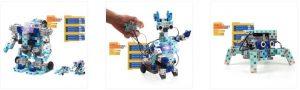 un robot à construire à l'école