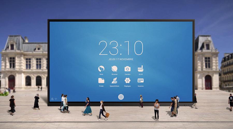 ecran interactif 98 pouces superglass