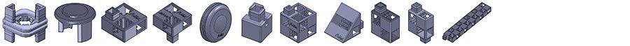 imprimer briques de construction en 3D