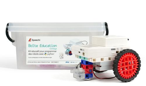 kit de robotique pour enseigner la programmation aux collégiens