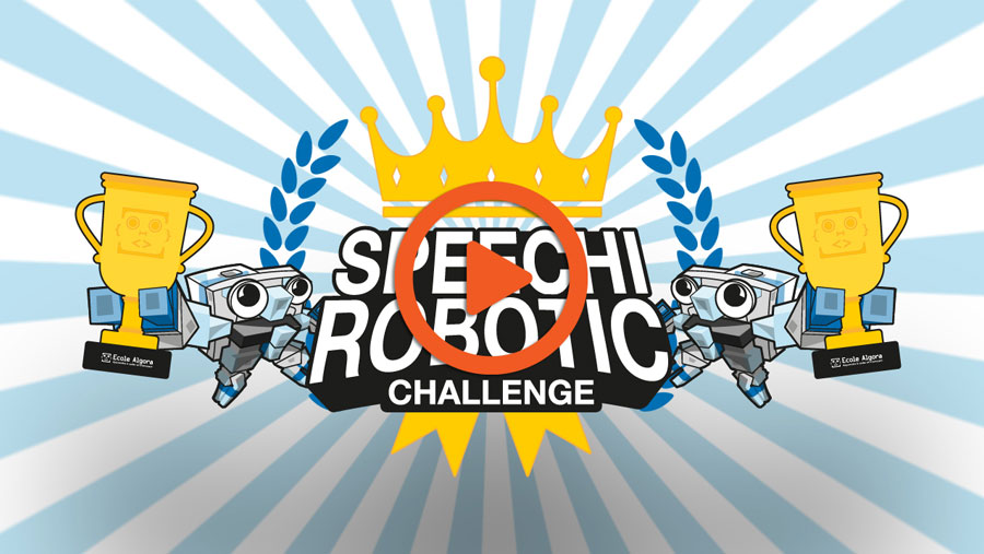 vidéo best-of du Speechi Robotic Challenge 2020