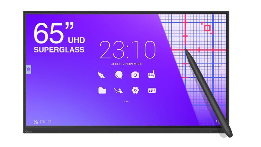 écran tactile SuperGlass Haute précision pour les écoles et les entreprises