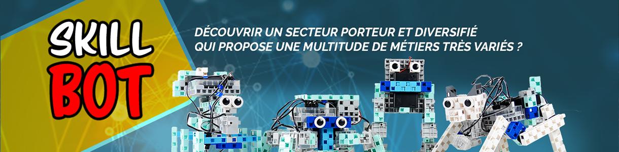 concours robotique Skillbot avec les kits Speechi