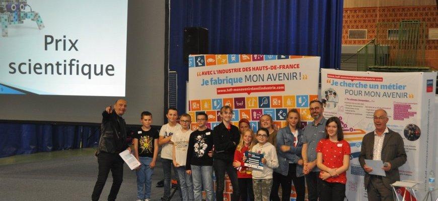 Concours de robotique du Skillbot dans les Hauts de France