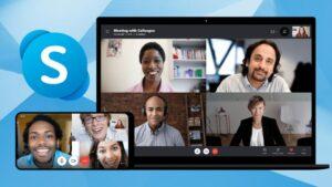 visio conférence avec Skype