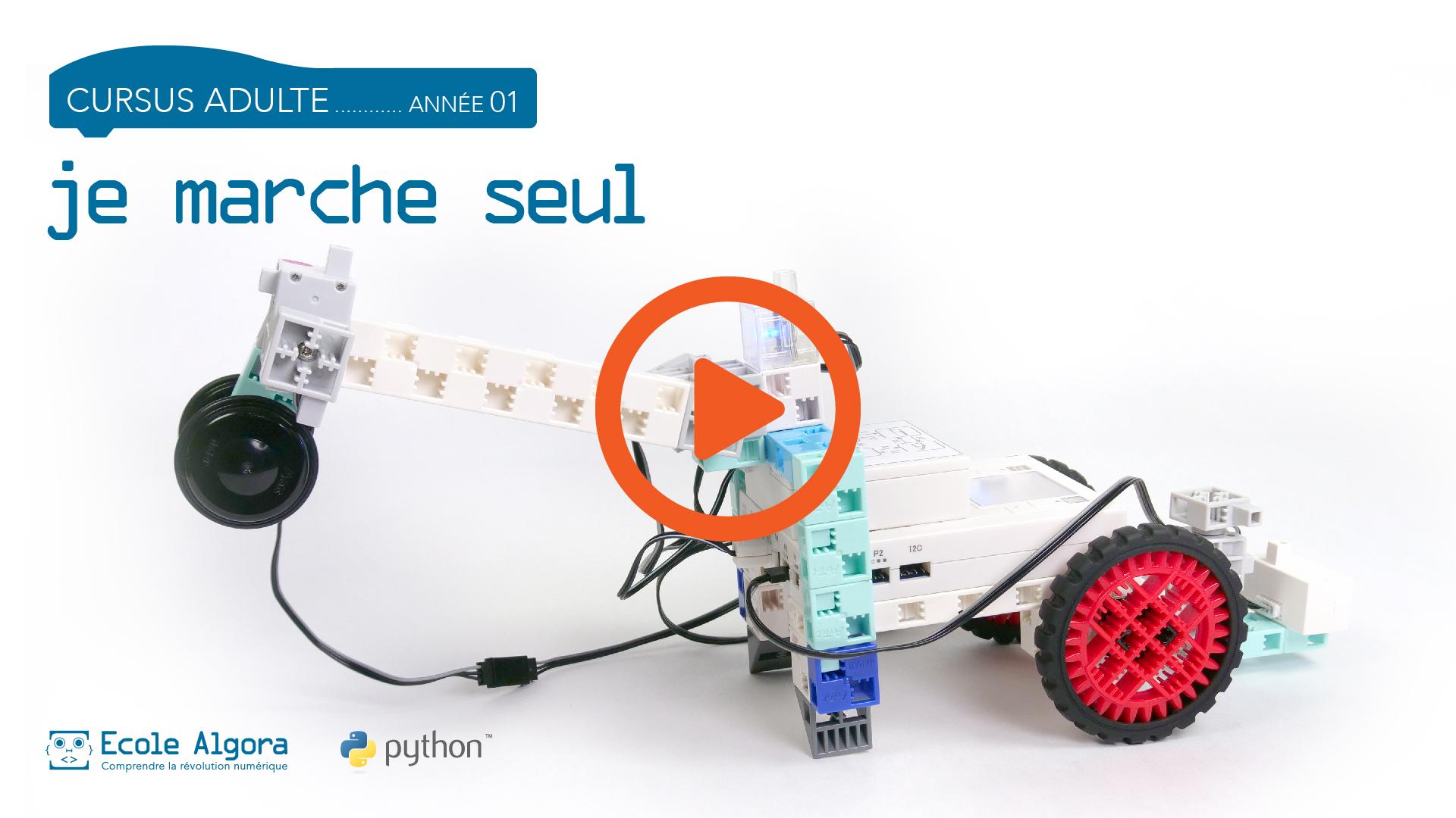 lien vers la vidéo de présentation du cours de programmation en Python pour adulte grand débutant