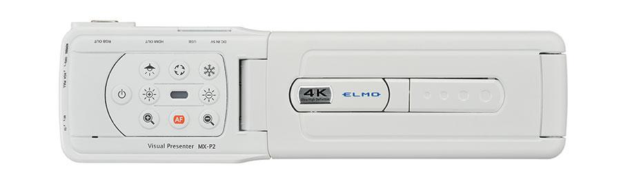 visualiseur MX-P2 blanc tableau de commandes