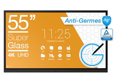 écran anti-germes 55''