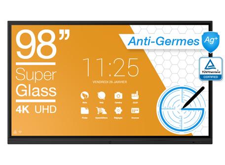 écran anti-germes 98''