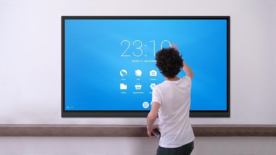 Android sur écran interactif