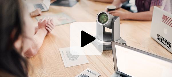 caméras de visioconférence UHD avec écran interactif class=