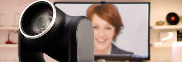 caméra travail à distance