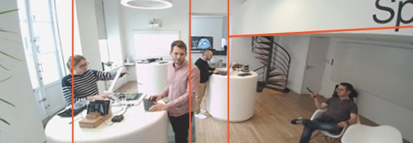 caméra visioconférence image 4k