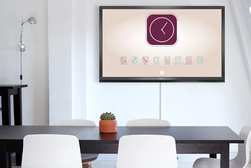 écran interactif personnalisable
