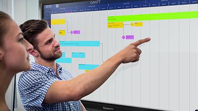 logiciel collaboration gantt ubikey speechi