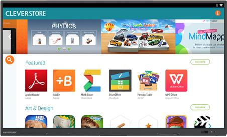 magasin d'application écran interactif
