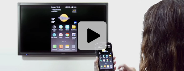 outils collaboratif ezcast écran interactif