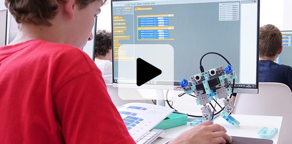 des robots pour enseigner la programmation à l'école