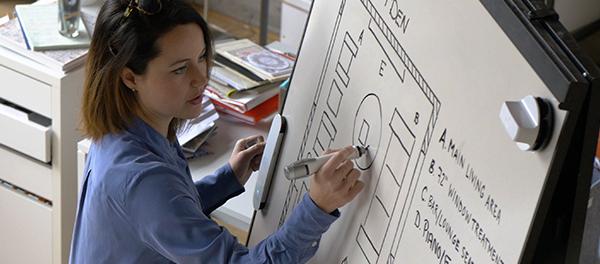 tbi en entreprise salle de réunion interactive