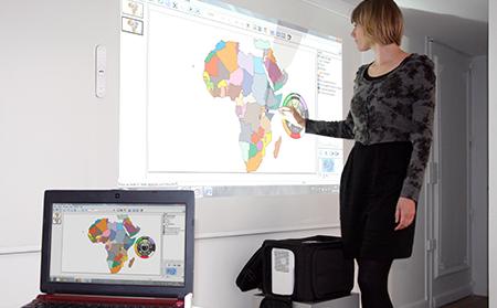 vidéoprojecteur interactif mobile tbi professionel