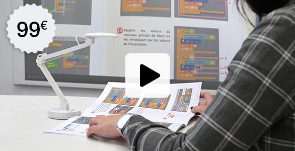 visualiseur de document école numérique cours à distance