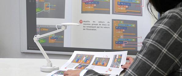 micro visualiseur de document UHD mobile