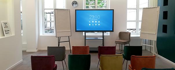showroom paris speechi écran tactile