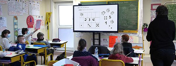 écran interactif école numérique