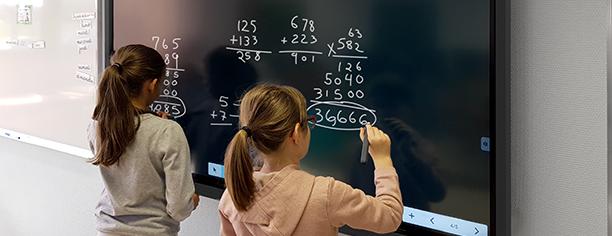 prêt école université écran interactif