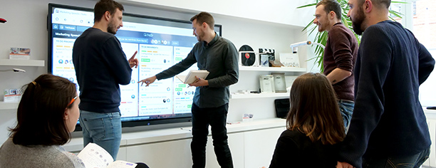 prêt écran interactif tbi visualiseur