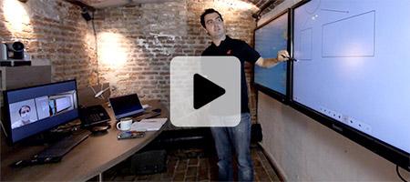 formation à distance de prise en main de votre écran interactif
