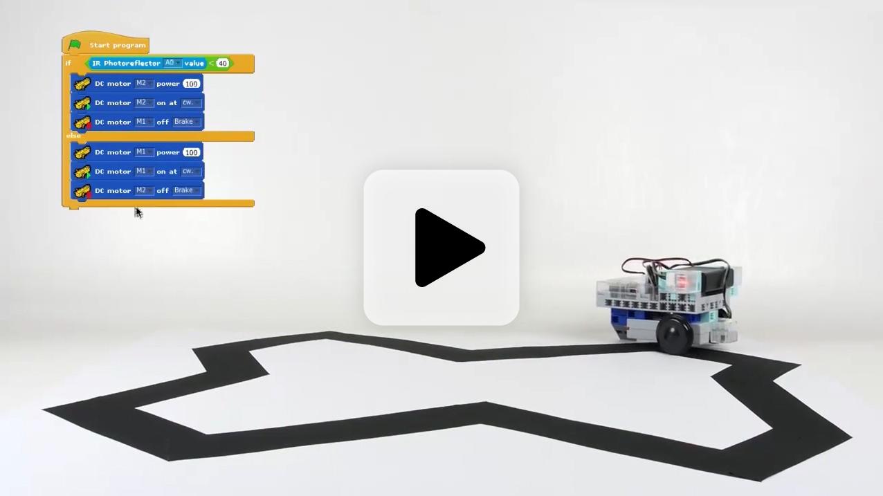 vidéo illustrant la programmation au collège dans le programme scolaire